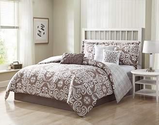 Helena Studio 17 7-Piece Reversible King Comforter Set