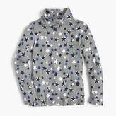 J.Crew Girls' star-printed tissue turtleneck T-shirt