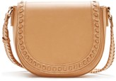 Sole Society Clovey SaddleBag w/ Whipstitch Detail