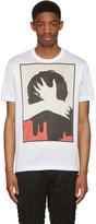 Junya Watanabe White Z Dala Od Zgielku T-shirt