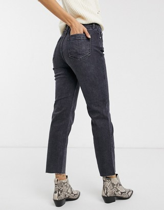 Free People crvy high-rise vintage jeans-Blue