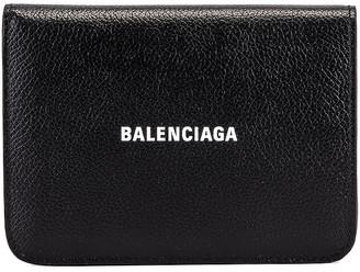Balenciaga Medium Cash Wallet in Black & White | FWRD
