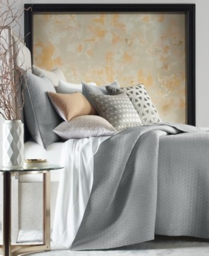 Hotel Collection Bedford Geo King Coverlet Bedding