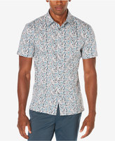 Perry Ellis Men's Painted Floral Shirt, A Macy's Exclusive Style