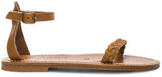 K. Jacques Mathis Sandal in Pul Naturel | FWRD