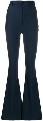 Hebe Studio High Rise Flared Trousers