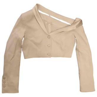 Jonathan Simkhai White Viscose Jackets