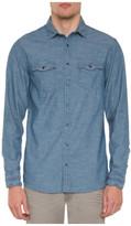 R & E RE: Long Sleeve Denim Shirt