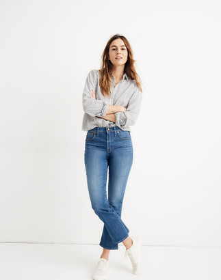 Madewell Petite Cali Demi-Boot Jeans in Tierney Wash: Eco Edition