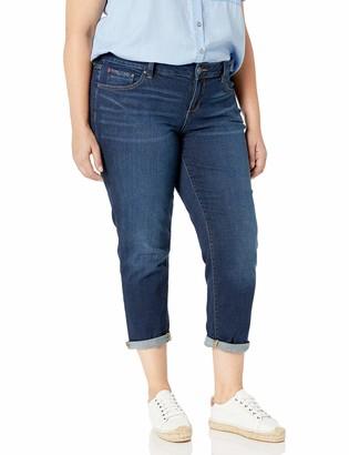 SLINK Jeans Women's Plus Size Amber Boyfriend 16w