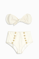 Lisa Marie Fernandez Poppy Denim Bikini Set