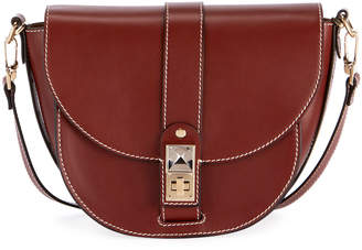 Proenza Schouler PS11 Medium Smooth Leather Saddle Bag