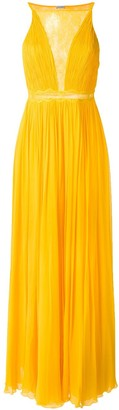 Tufi Duek Pleated Gown