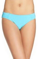Tommy Bahama Women's Side Shirred Hipster Bikini Bottoms