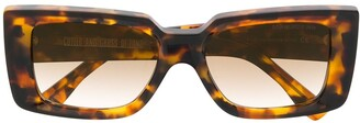 Cutler & Gross Tortoise Shell Tinted Sunglasses