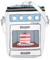 Simonetta oven cake printed shoulder bag