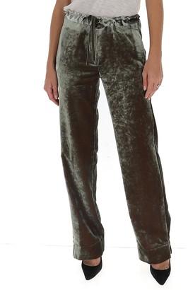Ann Demeulemeester Tie-Waist Velvet Pants
