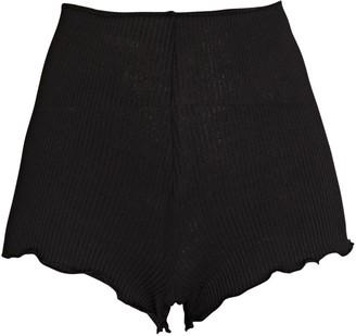Only Hearts Pamela Rib Knit Shorts