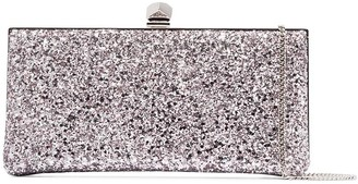 Jimmy Choo Celeste glittered clutch