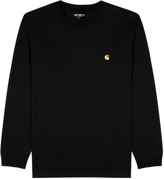 Carhartt Work In Progress Chase Black Cotton Top