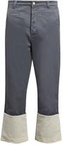 Loewe Fishermen wide-leg cotton trousers