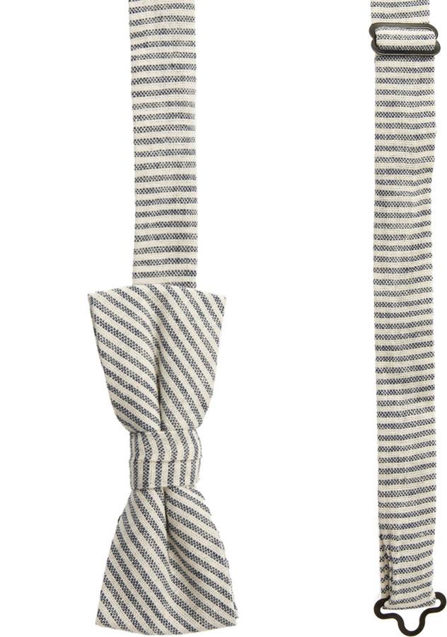 Asos Stripe Bow Tie