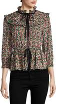 Anna Sui Women's Strawberry Fields Jacket