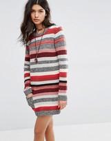 Rip Curl Stripe Knit Jumper Dress