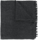 Rick Owens fringed scarf - women - Silk/Polyamide/Cashmere/Wool - One Size