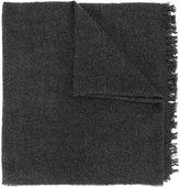 Rick Owens fringed scarf - women - Silk/Polyamide/Cashmere/Wool - One Size