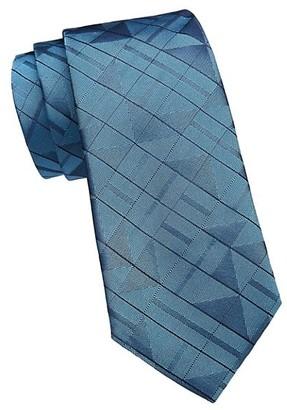 Emporio Armani 3D Square Silk Tie