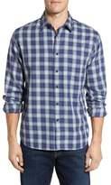 Grayers Walden Slim Fit Plaid Slub Twill Sport Shirt