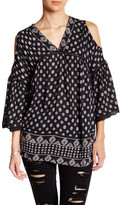 Angie Bell Sleeve Cold Shoulder Blouse