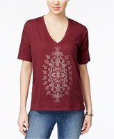 Lucky Brand Embellished T-Shirt