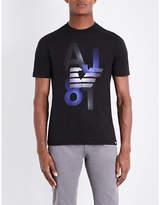 Armani Jeans Eagle 81 Cotton-jersey T-shirt