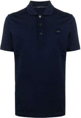 Paul & Shark Embroidered Logo Polo Shirt