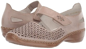 Rieker 413G8-62 (Clay/Silver) Women's Shoes