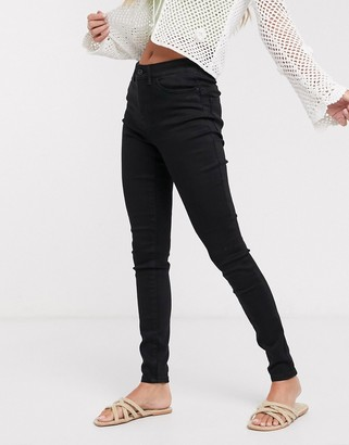 Pieces Sofi bum push up skinny jeans