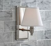 Pottery Barn Hayden Single Shade Sconce