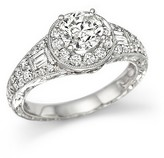 Bloomingdale's Certified Diamond Ring in 14K White Gold, 1.90 ct. t.w.