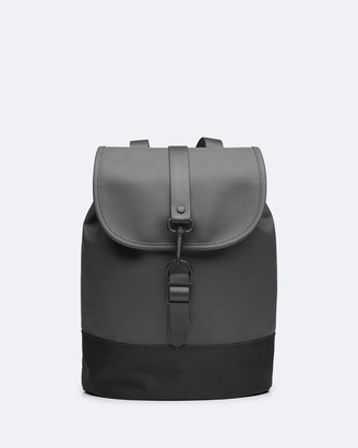 Rains Women's Black Bags - Drawstring Backpack - Size One Size at The Iconic