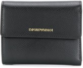 Emporio Armani trifold logo wallet