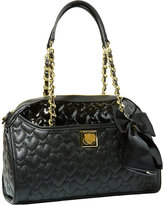 Betsey Johnson Be My Wonderful Dome Satchel