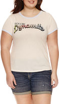 Arizona Feelin' Dynamite Graphic T-Shirt- Juniors Plus