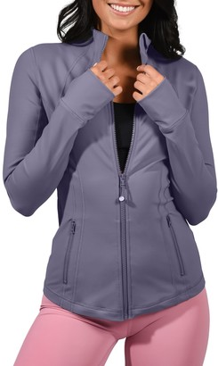 90 Degree By Reflex Full Zip Long Sleeve Jacket