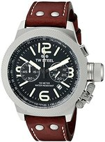 TW Steel Men's CS24 Analog Display Quartz Brown Watch