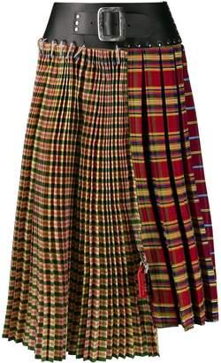 Chopova Lowena pleated midi skirt