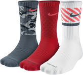 Nike 3-pk. Dri-FIT Triple Fly Crew Socks