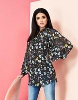 Yumi Floral Tunic Top