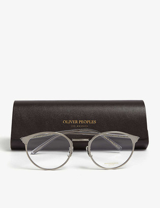 Oliver Peoples Hanneli round glasses
